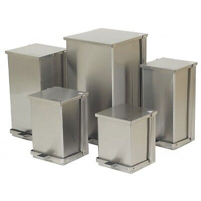 Stainless Steel Step-On Garbage Cans