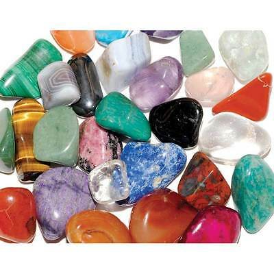 80grms X/L Mix 30-40mm Healing Crystals Tumble Stones Chakra Gemstones Mineral