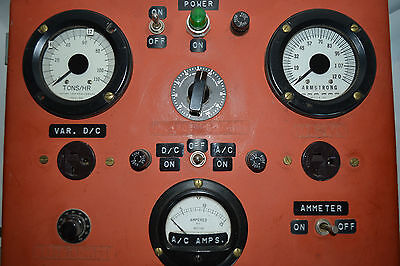Vintage Custom Made Variable Power Supply, Tester, AC/DC, Amps