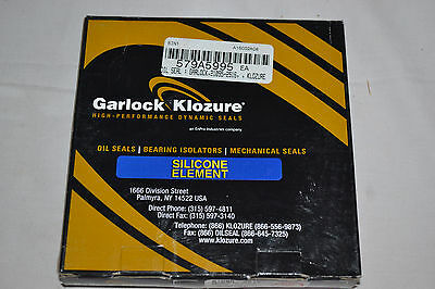NEW Garlock Klozure Silicone Element OIL Seal 21095-2516