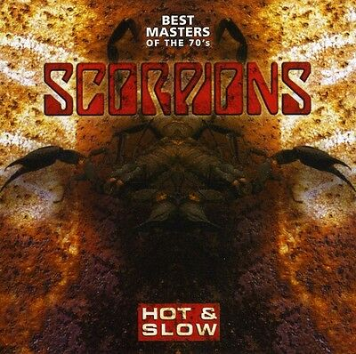 Scorpions - Hot & Slow-Best Masters Of The '70s [CD New]