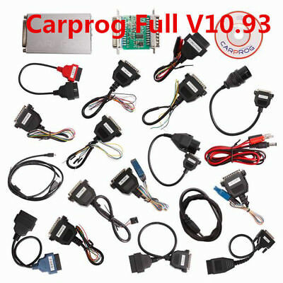 Carprog V10.93 with 21 Adapter Support Airbag Reset, Dash, IMMO, MCU/ECU