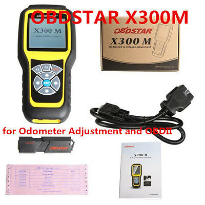 OBDSTAR X300M Special for Odometer Adjustment and OBDII (Can Be Adjusted by OBD)