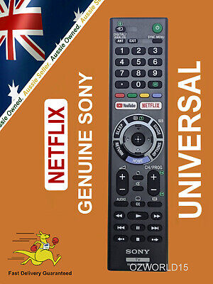 GENUINE SONY BRAVIA TV NETFLIX UNIVERSAL REMOTE ** Sony Aust Stock ** ANDROID TV