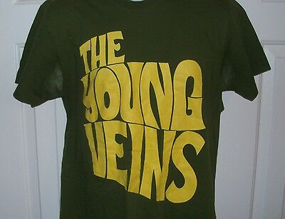 Rare THE YOUNG VEINS Concert Tour Shirt Size L Ryan Ross / Panic at the Disco