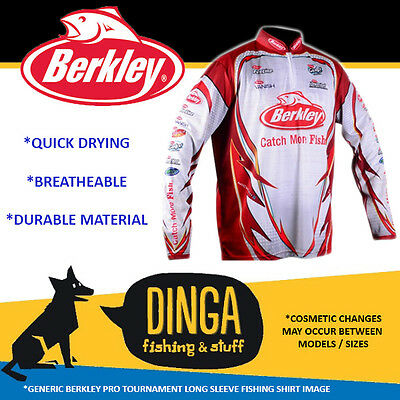 Berkley 3X-Large Pro Tournament Long Sleeve Fishing Shirt