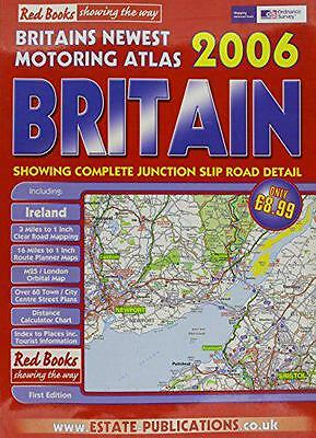Britain (Red Books Road Atlas) by  | Paperback Book | 9781841924069 | NEW