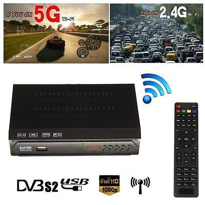 M5-S2 Digital PVR Full HD TV Satellite Receiver Freeview HD TV Channel Box New