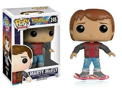 FunKo Back To The Future - Marty McFly Hoverboard US Exclusive Pop! Vinyl Figure