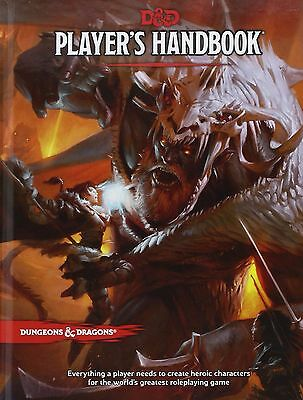 Dungeons & Dragons Players Handbook 5Th Edition Role Playing Game Rpg
