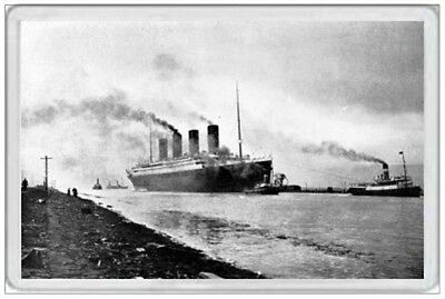 Rms Titanic - Fridge Magnet - Sea Trials 1912 - Ship Shipping Sailing