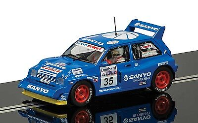 Scalextric 1:32 C3639 Mg Metro 6R4 No.35 Willie Rutherford Slot Car *new*