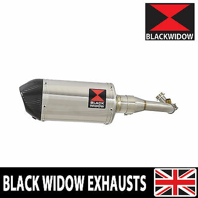 Piaggio Vespa GTS 125 4T ie Super 09-16 Stainless Steel/Carbon Tip Can  200ST
