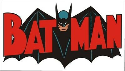 1960s BATMAN logo magnet - new!