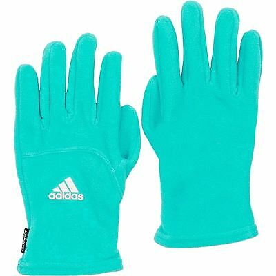 Adidas 2017 Ladies Climawarm Womens Sports Winter Fleece Gloves-PAIR