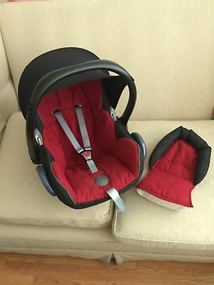 Maxi Cosi Cabrio Fix Car Seat Infant Carrier With New Born Head Support