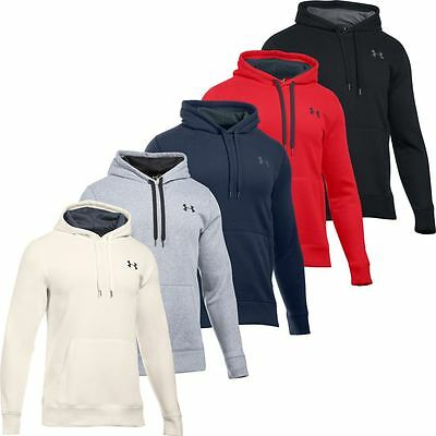 Under Armour 2016 Storm Rival Fleece Cotton Hoody Pullover Mens Sports Hoodie
