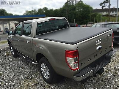 2016+ Ford Ranger Tri Folding Soft Tonneau Bed Canopy Cover 4x4 Non Drill