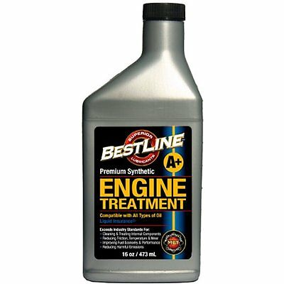 Engine Oil BestLine 853796001049 Premium Synthetic Engine Treatment for Gasoline