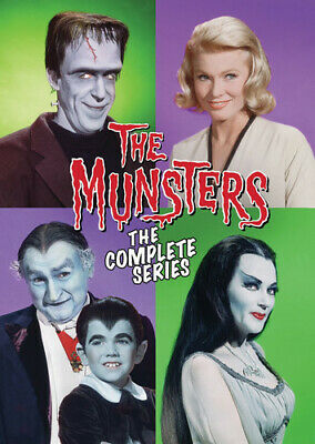 Munsters: The Complete Series - 12 DISC SET (2016, DVD NEW)