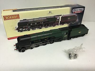 Hornby R2782XS Duchess Class 46249 City of Sheffield BR Green - DCC SOUND