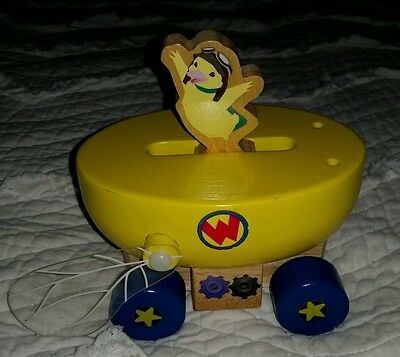 Wonder Pets Ming Ming Yellow wooden boat Missing Sail