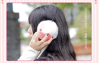 Chobits Elda Chii's Ears Hair Beads Plush Cosplay Earmuff Warm Hair Band Gift