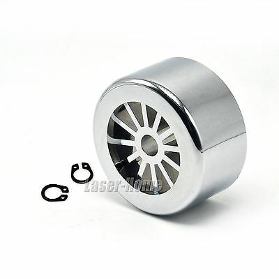 52mm Cooling Fan Chrome Plated for 300W 400W ER11 CNC Spindle DC Motor DIY