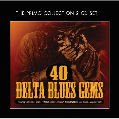 Various Artists - 40 Delta Blues Gems / Various [New CD] UK - Import