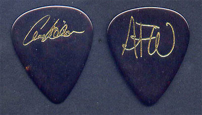 Heart Ann Annie Wilson Early 1990s Gold on Tortoise Signature Guitar Pick