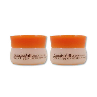 [Sample] [Etude House] Moistfull Collagen Cream 10ml x 2PCS