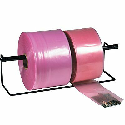 """Anti Static Poly Tubing 4""""x1075' 4 Mil Office Mailing Supplies X1075 Ptas0404 Pi"""