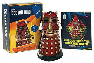 Doctor Who: Supreme Dalek and Illustrated Book: With Light and Sound, Dinnick, R