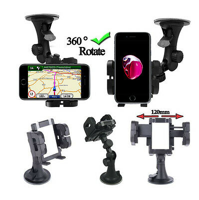 Universal in Car For iPhone 5 6 7 Plus Mobile Phone Sat Nav PDA GPS Holder Mount