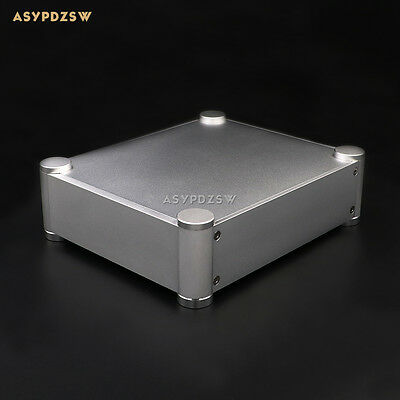 2106T Full aluminum Rounded Enclosure Amplifier case Preamp chassis DAC/PSU box