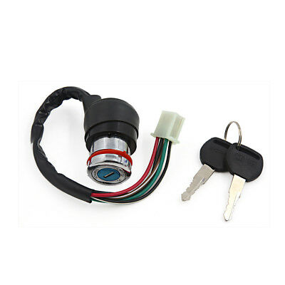 6 Pins Motorcycle Security Power Supply Ignition Switch Lock w Keys for GN125