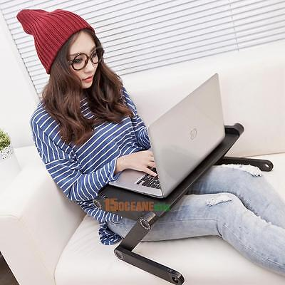 Adjustable Portable Folding Mini Desk Table Stand Bed Tray For Laptop Notebook