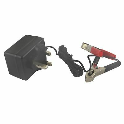 Trickle Charger 12v Compact 500mA Motorbike Car Caravan Quad Boat Plug SIL225