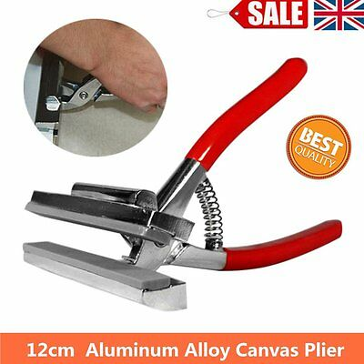Red Chrome Canvas Stretching Pliers For Stretcher Bars Artist Framing Toym