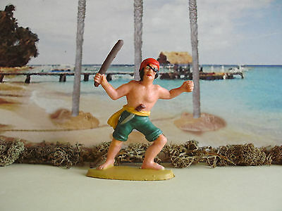 Vintage Charbens Pirate with club 1:32 painted