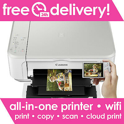 CANON PIXMA MG3650 S All-in-One Wireless Inkjet Printer WiFi - Printer Only Deal