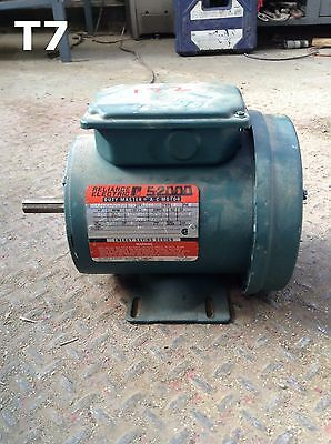 "Reliance Electric S-2000 F56H13O1V Steel AC Motor 3/4HP 1725RPM 3PH 5/8"" Shaft"