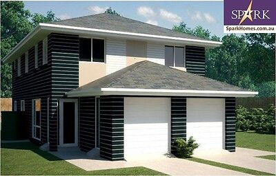 Duplex Kit Home - 297B, 6 Bedrooms - Size - 297, Pre-Fab Homes, Engineered