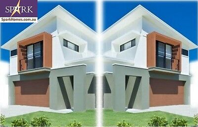 Duplex Kit Home - 299T, 8 Bedrooms - Size 477 m2, Pre-Fab Homes, Engineered