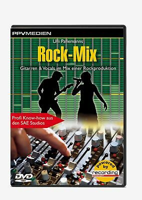 DVD: Rock-Mix - Gitarren & Vocals im Mix einer Rockproduktion - Profi Know-how