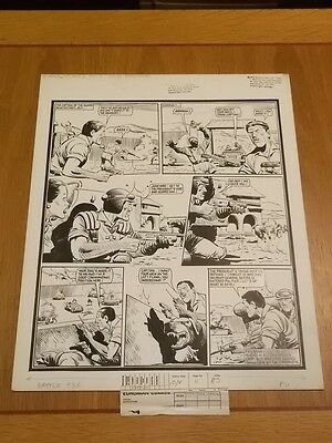 Battle Action Force British Weekly Original Comic Art