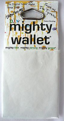 Dynomighty THE BLANK DIY White Tyvek DY-509 Super Thin Mighty Wallet >NEW<
