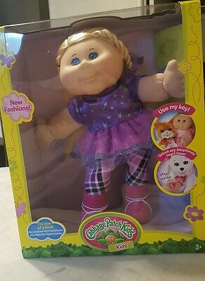 "Cabbage Patch Kids Adoptimals 14"" (light Blonde) Girl"