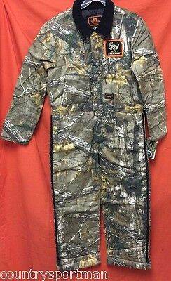 WALLS Legend Kids Grow Insulated Coveralls (L) #15125AX9 Realtree Xtra (AX9)