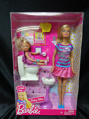New in Box  - I Can Be....Barbie - Baby Sitter - 2009